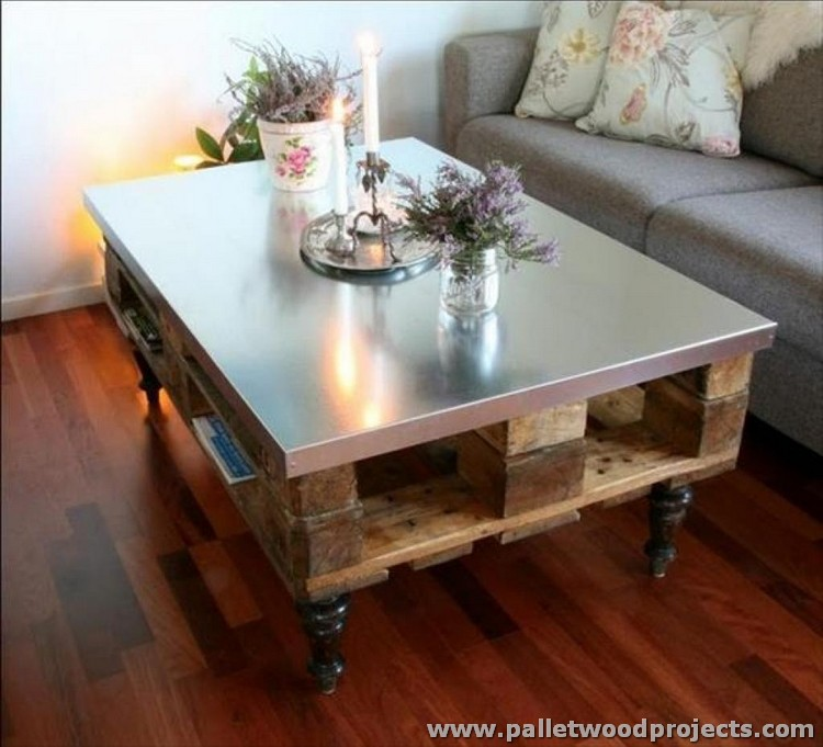 Recycled Wooden Pallet Tables Wood Projects