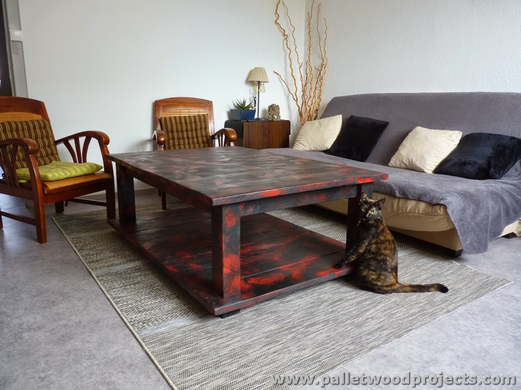 Recycled Wooden Pallet Tables Pallet Wood Projects