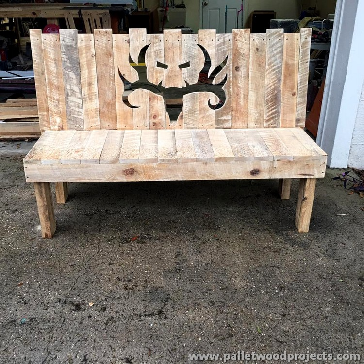 wood pallet bench instructions