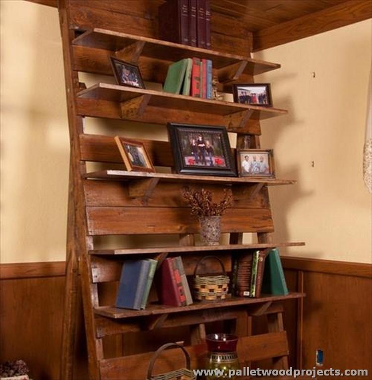 Pallet Wood Shelf: Ideas For Wooden Pallet Shelves