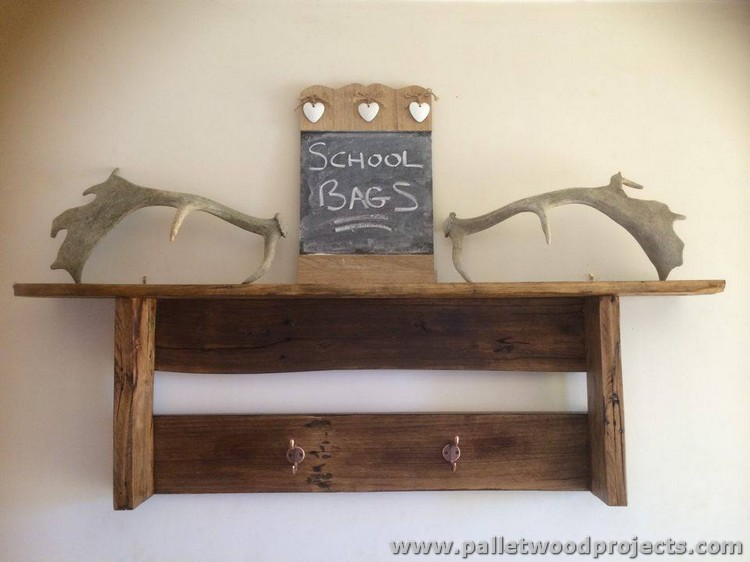 Ideas for Wooden Pallet Shelves | Pallet Wood Projects