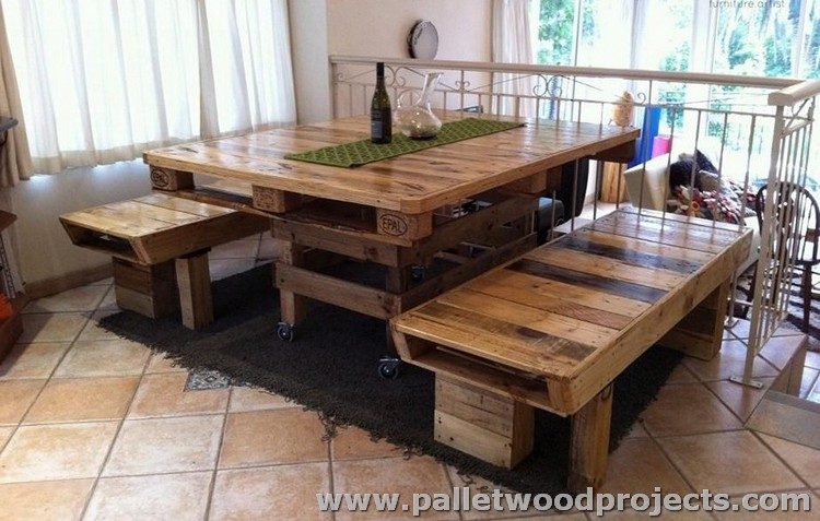 Recycled Wood Pallet Furniture Plans Pallet Wood Projects : Pallet Dining Table from www.palletwoodprojects.com size 750 x 477 jpeg 102kB