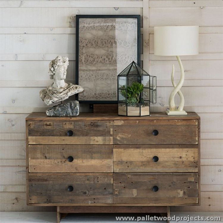 Pallet Dressing Table Plans