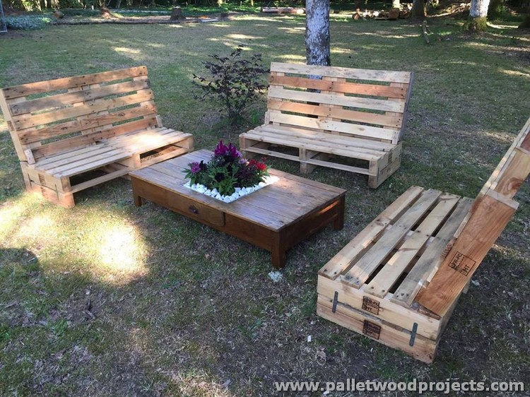 Bench Made From Pallets D I Y Pallet Bench Benches Made