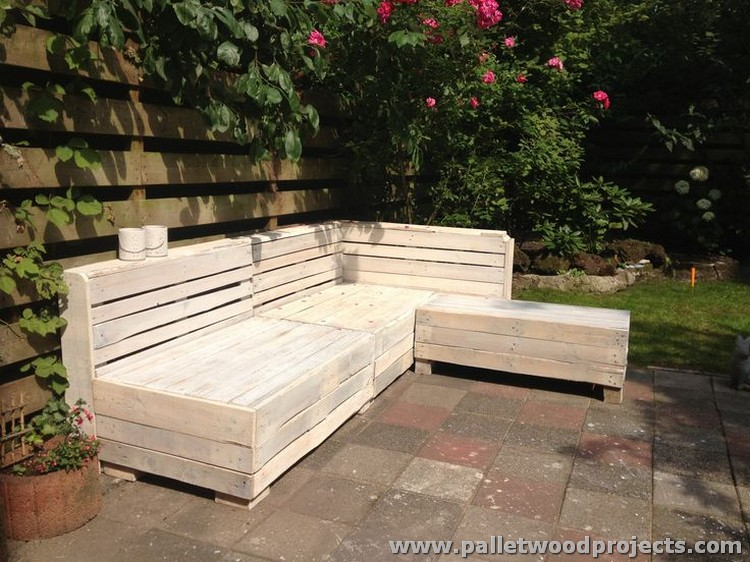 Recycled Pallet Sofa Ideas Wood Projects