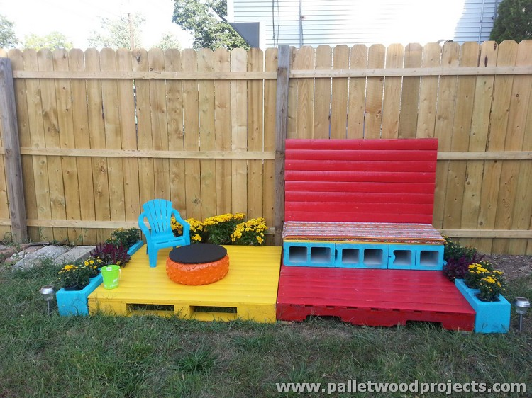 Pallet Patio Decor
