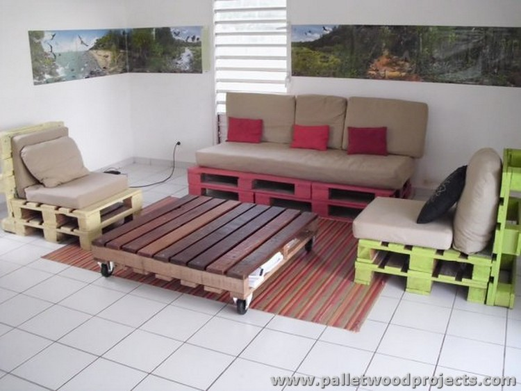 Furniture Ideas By Recycling Pallets Wood Pallet Wood Projects
