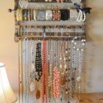 Wooden Pallet Jewelry Hanger