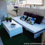 Beautiful Pallet Balcony Furniture