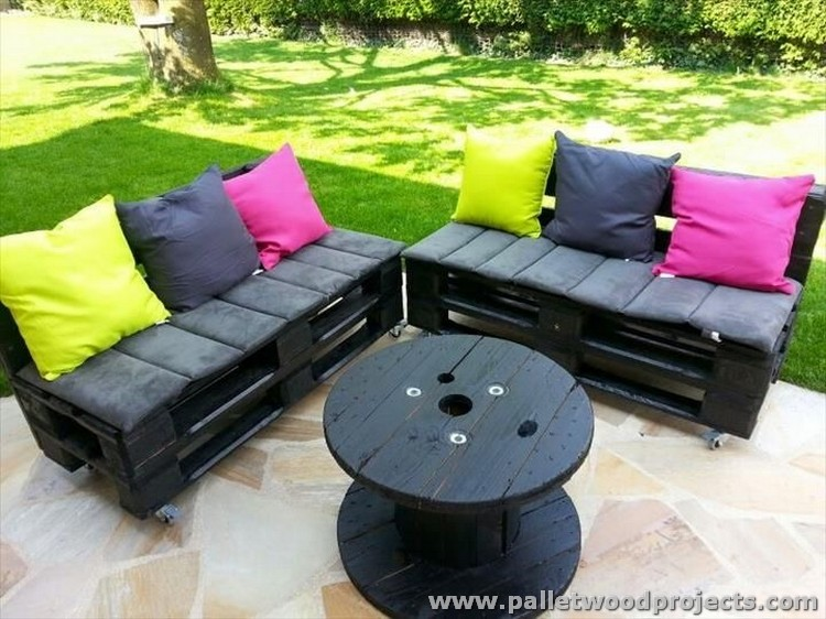 Pallet Patio Furniture cute pallet outdoor furniture ideas | pallet wood projects