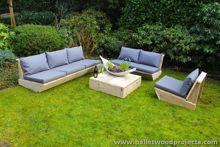 Cute Pallet Outdoor Furniture Ideas | Pallet Wood Projects