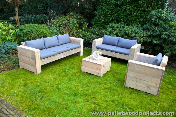 You can turn your outdoor space into a comfy sitting place where you ...