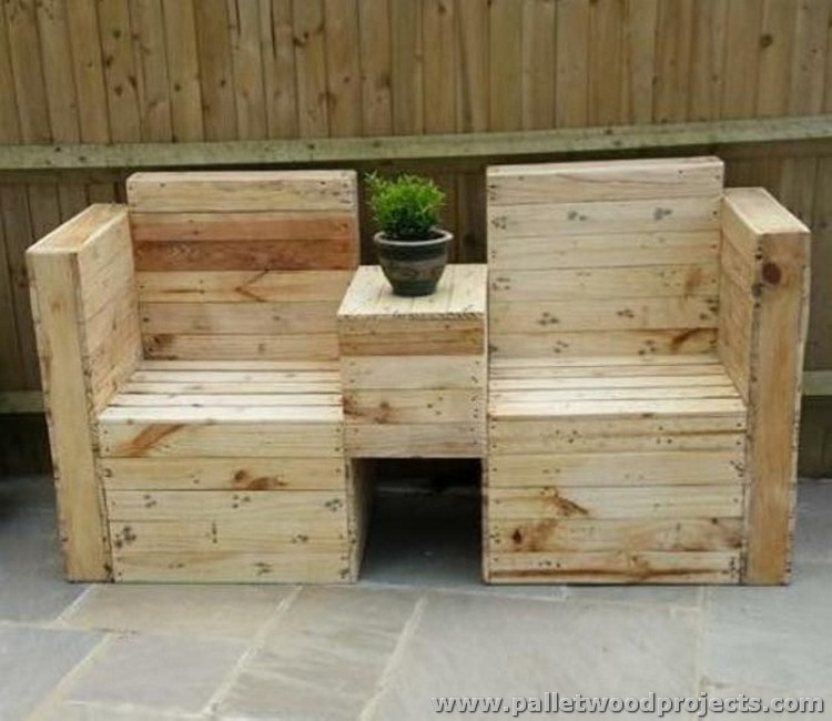 Pallet Double Chairs
