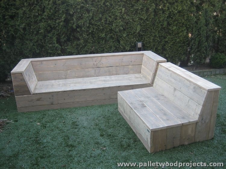 Pallet Garden Sitting