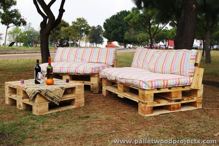 sofas with a wine table to enjoy alcohol drinks at outdoor space area