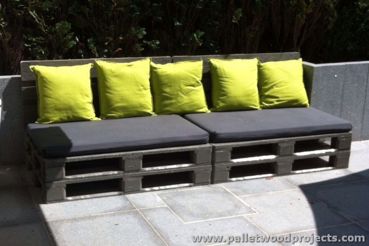 Pallet Outdoor Sitting Plan