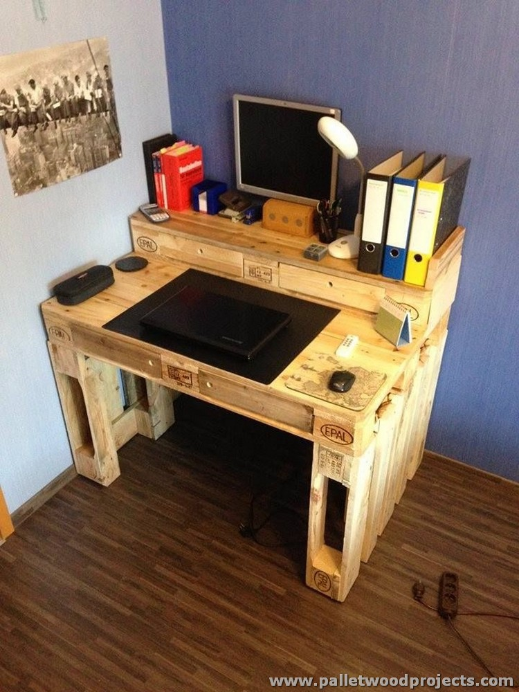 Pallet PC Table