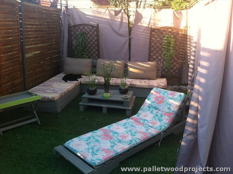 Pallet Patio and Garden Furniture
