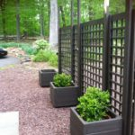 Pallet Planter Boxes and Privacy Screen