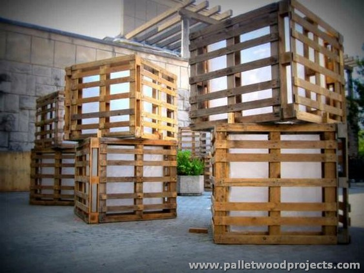 Pallet Summer Festival Lights