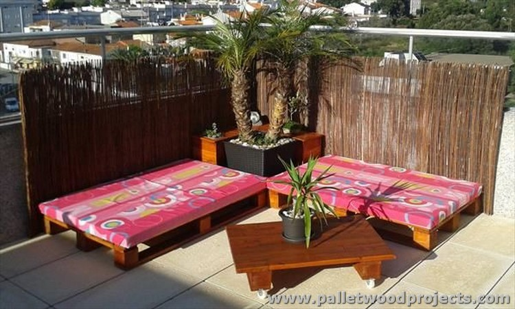 Pallet Terrace Furniture