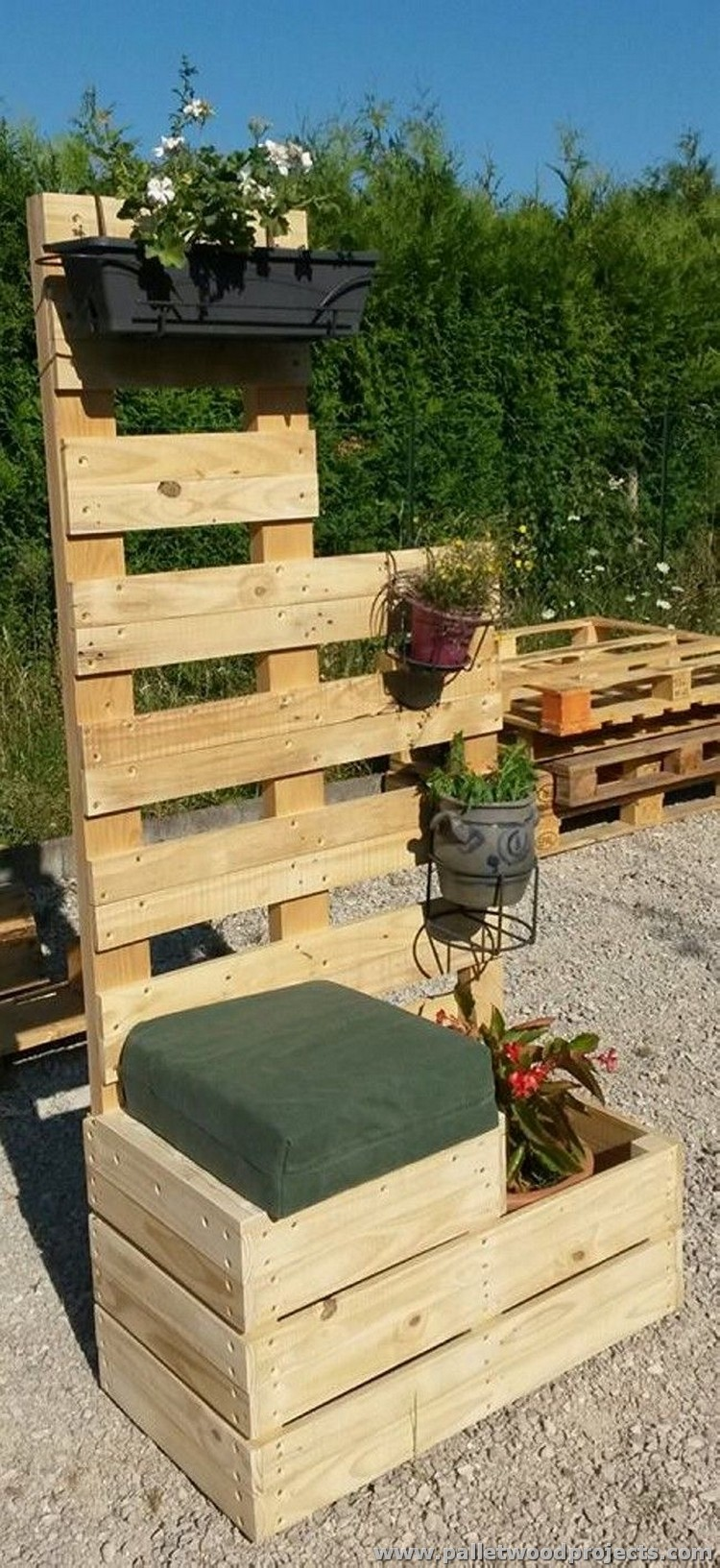 Unique Pallet Planter