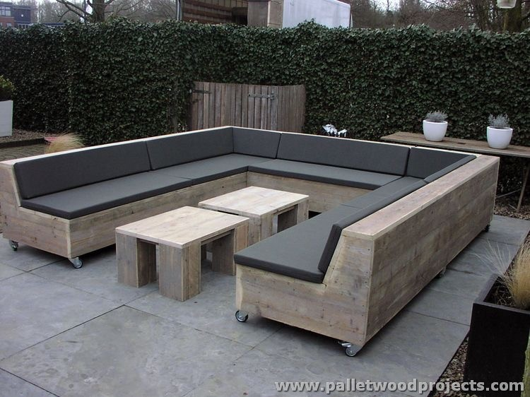 Outdoor Pallet Furniture attractive outdoor pallet furniture plans | pallet wood projects
