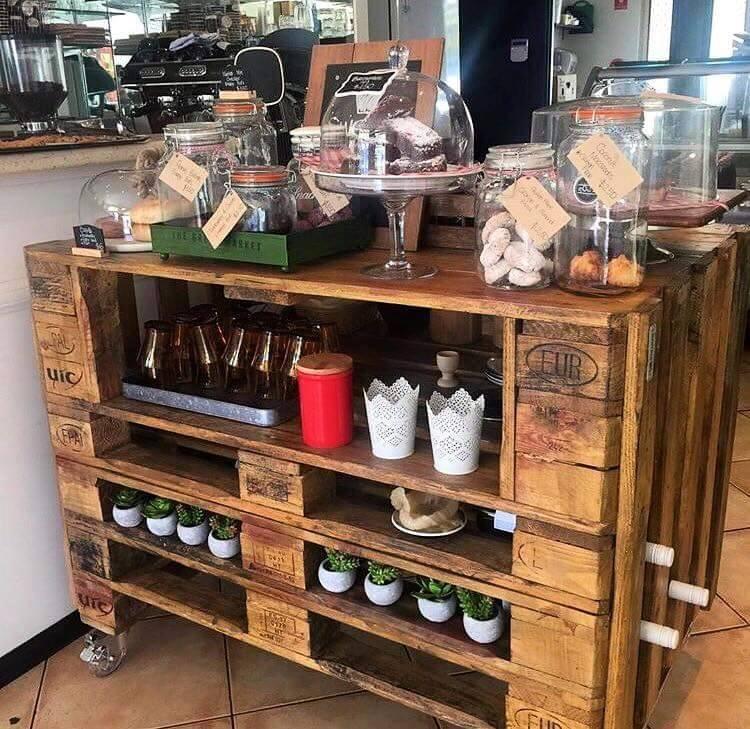 Euro Pallet Kitchen Table