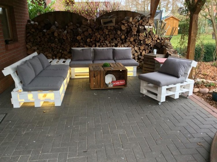 Pallet Wooden Made Furniture Pallet Wood Projects