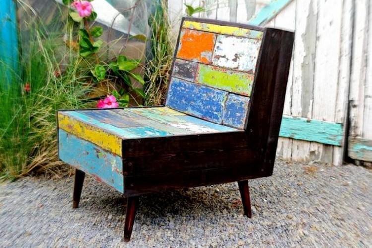 Pallet Chair Plans