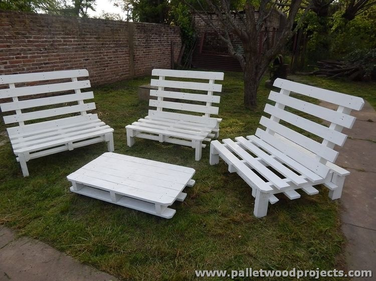 Outdoor Ideas With Wooden Pallets Pallet Wood Projects