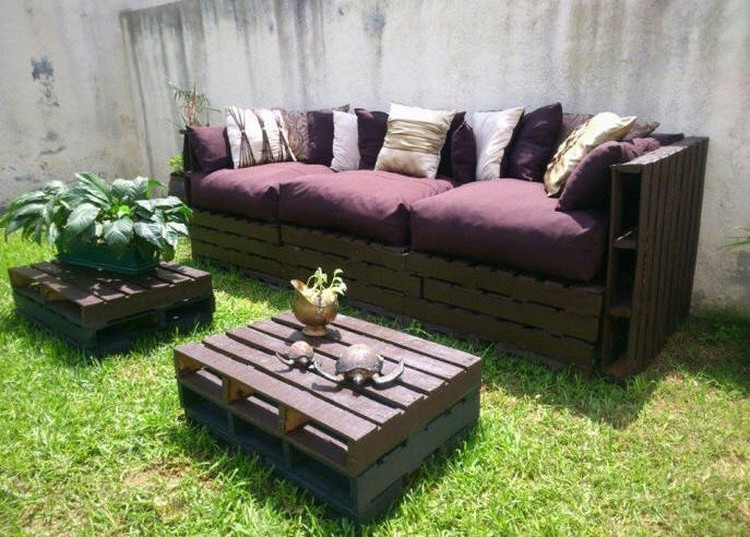 Pallet Patio Garden Sofa