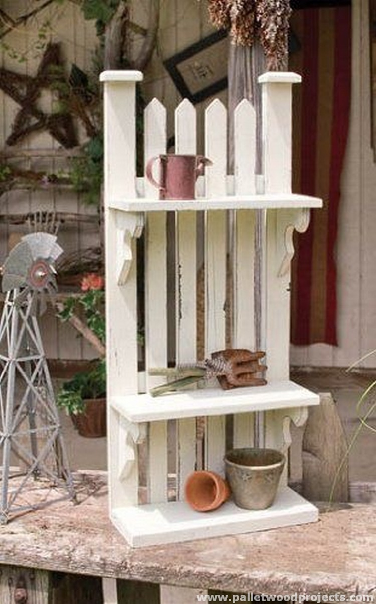 Pallet Shelves Pallet Wood Projects