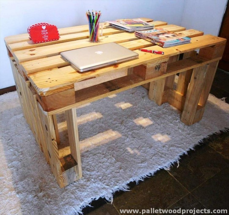Pallet Study or Laptop Desk