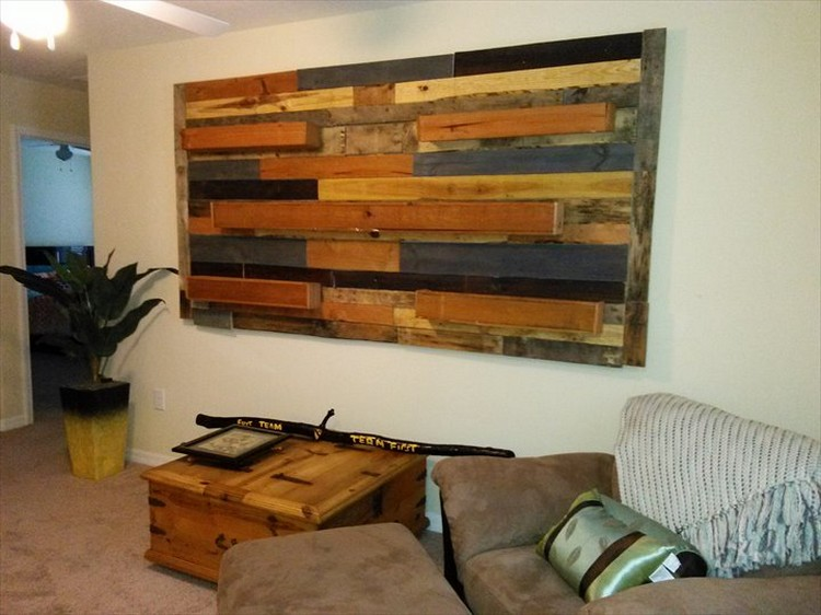 Stunning Pallet Wall Art Ideas Wood Projects
