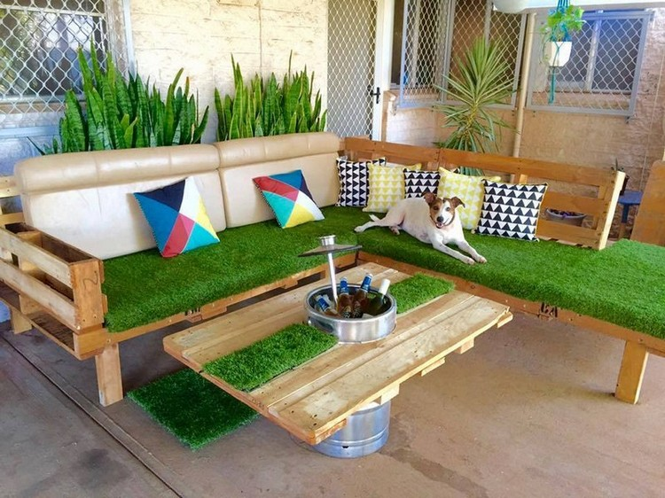 Patio Pallet Furniture