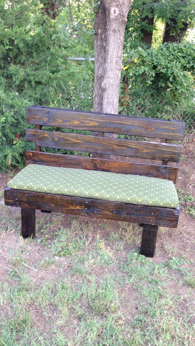Benches Made With Wood Pallets Pallet Wood Projects