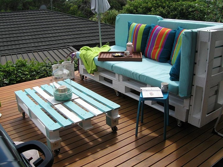 Pallet Patio Furniture Plans – Pallet Patio Furniture Plans
