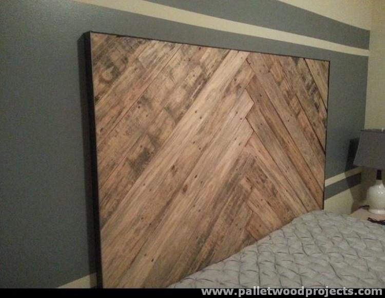 Cozy Pallet Headboard Ideas Pallet Wood Projects