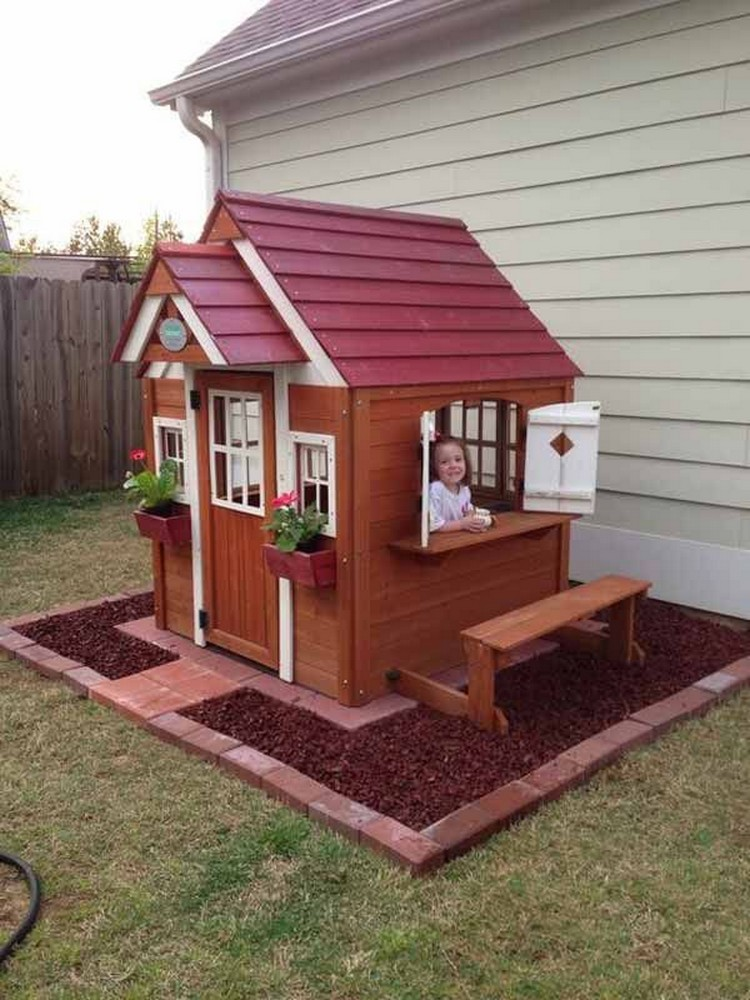 kids playhouses made with wooden pallets pallet wood