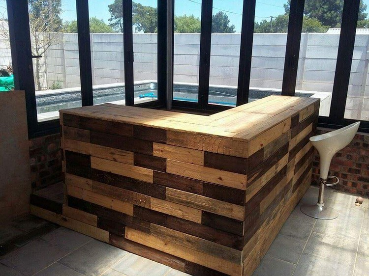 Wood Pallet Recycled In Creative Ways Projects