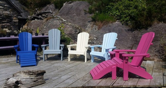 Pallet Outdoor Chairs