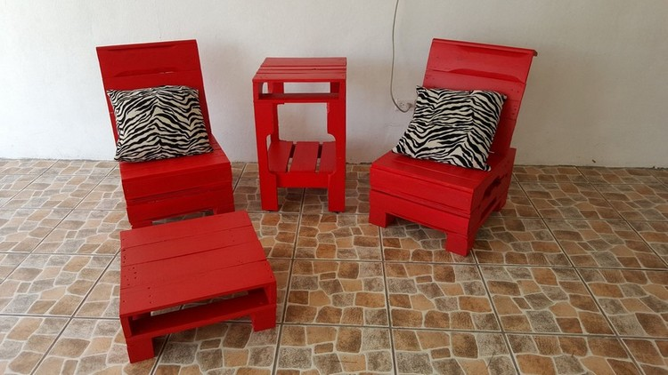 Wood Pallet Chairs