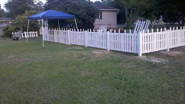 Wood Pallet Fence Ideas