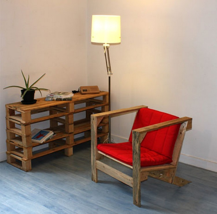 Recycled wood pallet furniture ideas pallet wood projects for Pallet furniture projects