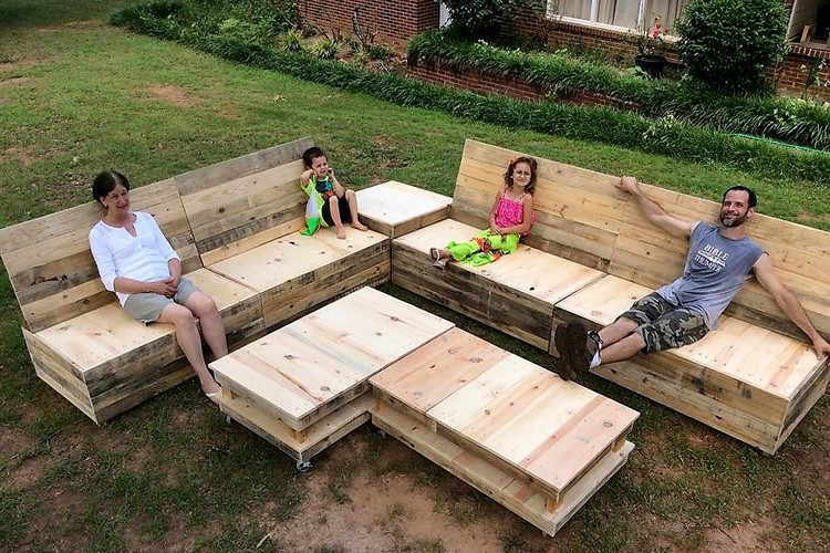 Superb Pallet Furniture Plans Pallet Wood Projects
