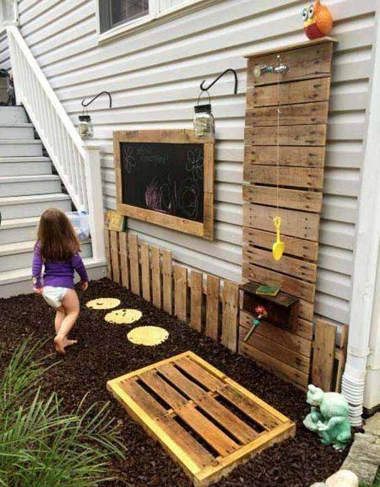 Pallet Outdoor Kids Project