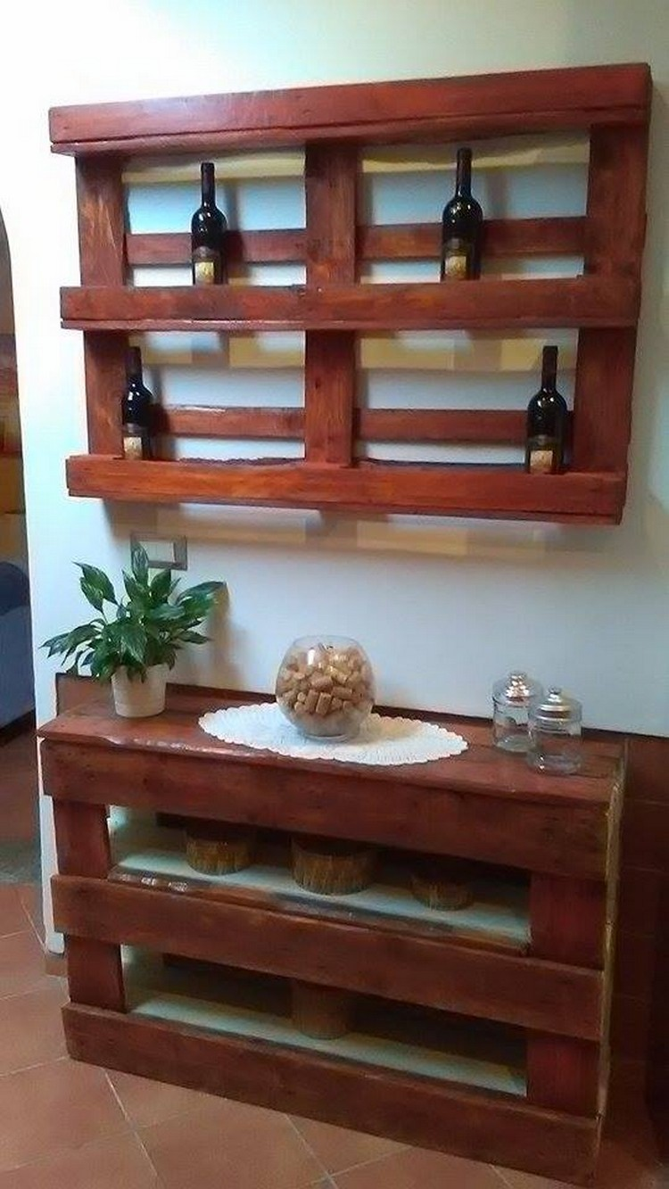 Pallet Shelves for Your Home