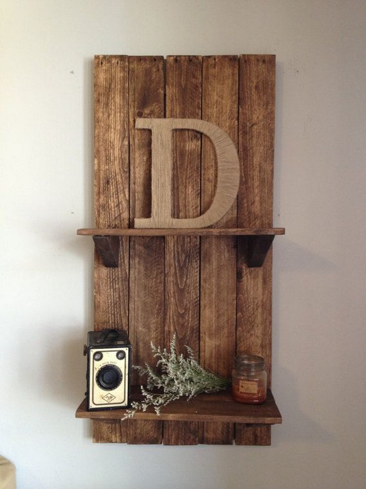 Recycled Pallet Shelving Ideas | Pallet Wood Projects