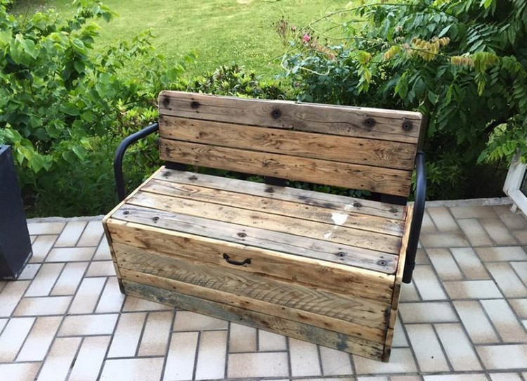 Prime Recycled Pallet Benches Pallet Wood Projects Pdpeps Interior Chair Design Pdpepsorg